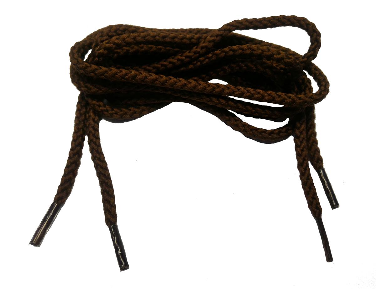 Шнурки для обуви Шнурком, цвет: коричневый, 90 см. В350_3,5/250