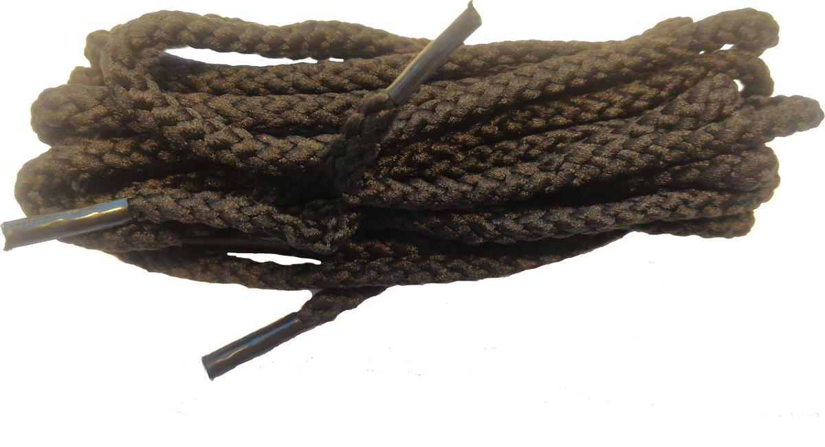 """Круглые шнурки """"Шнурком"""" изготовлены из 100% полиэфира. Крепкие и удобные шнурки являются неотъемлемым аксессуаром и подходят для классической обуви на 8-10 отверстий."""