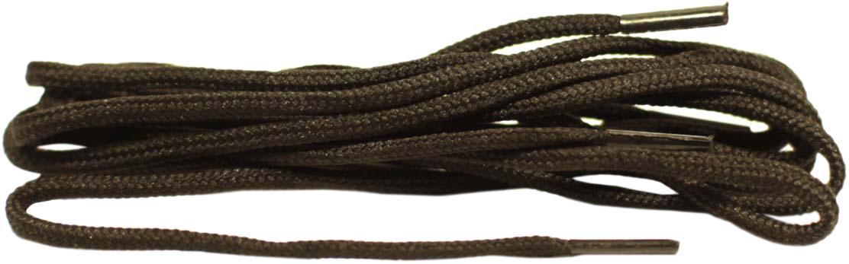 Шнурки для обуви В854 круглый 3 мм, длина 75 см., 100% полиэфир, упаковка блистер (Для классичекой обуви на 6-8 отвестий)