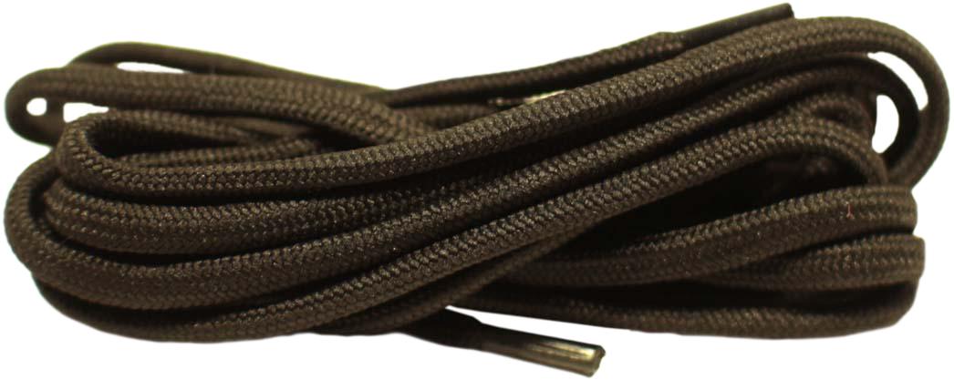 """Круглые шнурки """"Шнурком"""" изготовлены из 100% полиэфира. Крепкие и удобные шнурки являются неотъемлемым аксессуаром и подходят для зимней, треккинговой, специальной обуви на 12-14 отверстий."""