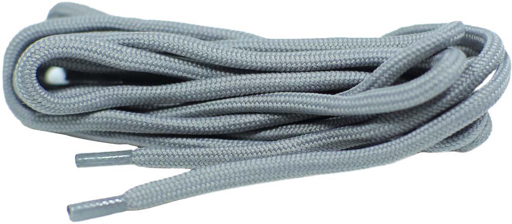 Шнурки для обуви Шнурком, круглые, цвет: светло-серый, 6 мм, 120 см. В865_6/цветной ложка для обуви эффектон цвет серый 22 5 см
