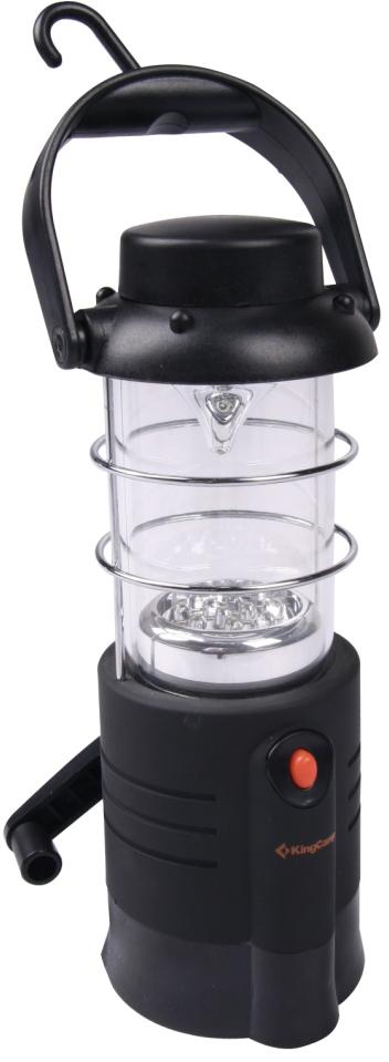 Лампа-фонарь KING CAMP Dynamo Camp Light, 12 светодиодов