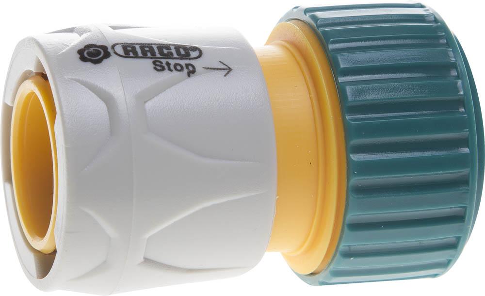 Соединитель шланга Raco, Original, с автостопом. 4250-55206C соединитель шланг насадка с автостопом raco original 4250 55206c