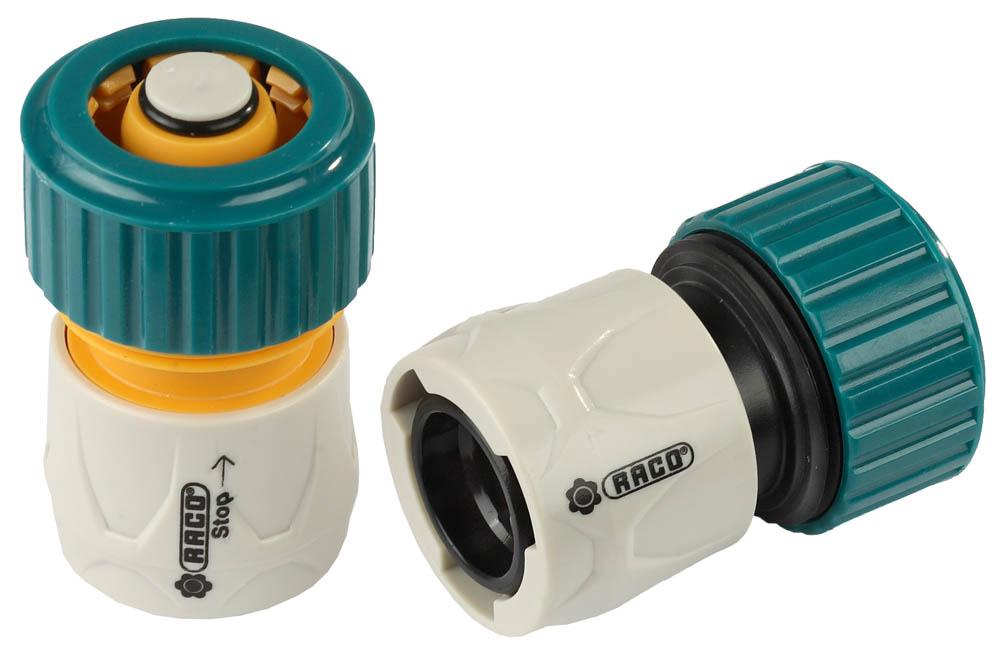 Набор соединителей для шланга Raco, Original. 4250-55266B набор прокладок для шланга raco original 4250 55260b
