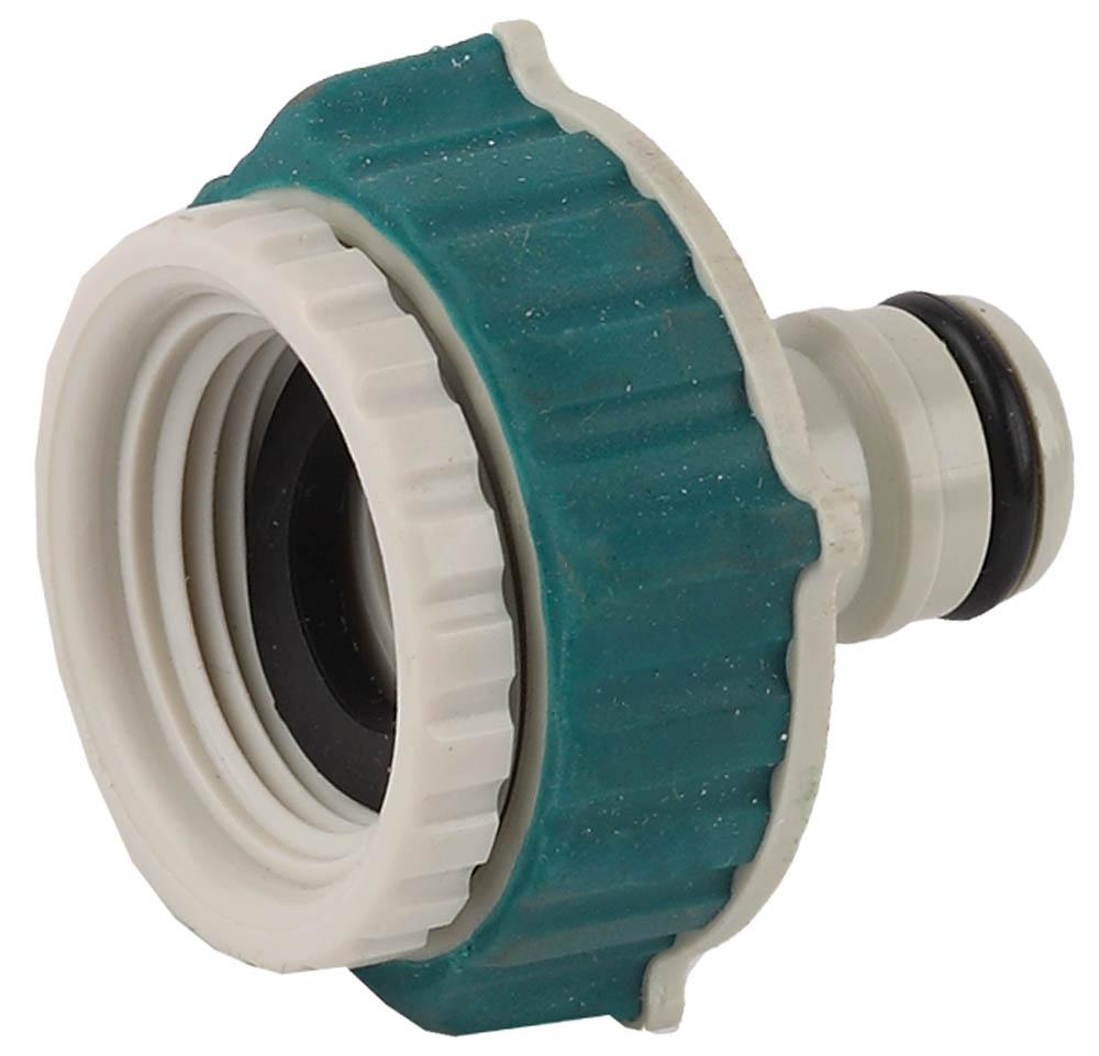 """Адаптер RACO (соединитель-резьба внешняя) отличается усовершенствованным дизайном и эргономичной формой. Покрытие из мягкой термопластичной резины. Диаметр 3/4""""х1"""". Ударопрочный пластик. Корпус из ударопрочного пластика исключает протечки, значительно продлевая службу изделия. Мягкая термопластичная резина повышает удобство в работе. Изделие совместимо с другими поливочными системами RACO, а также аналогичными системами других производителей.-Диаметр: 3/4""""х1""""; -Материал изделия: ABS-пластик; -Материал покрытия: термопластичная резина."""