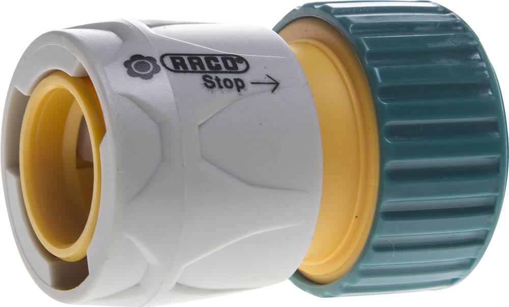Соединитель шланга Raco, Original, с автостопом. 4250-55206T соединитель шланг насадка с автостопом raco original 4250 55206t