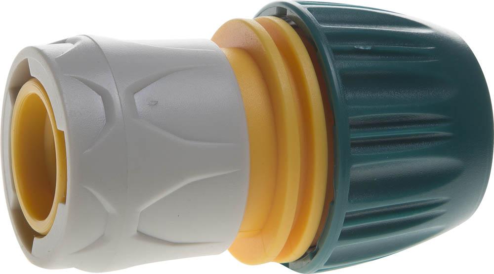 Соединитель шланга Raco, Original, универсальный, с автостопом. 4250-55196T соединитель шланг насадка с автостопом raco original 4250 55206c