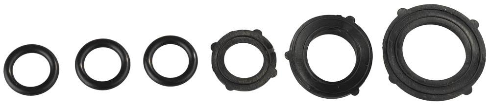 Набор прокладок для шланга Grinda. 8-426387_z01 набор шкатулок для рукоделия bestex 3 шт zw001250
