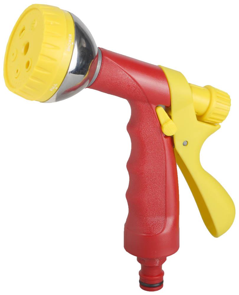 Пистолет-распылитель для полива Grinda, 6-позиционный. 8-427339_z01 дозатор для семян grinda 6 позиционный