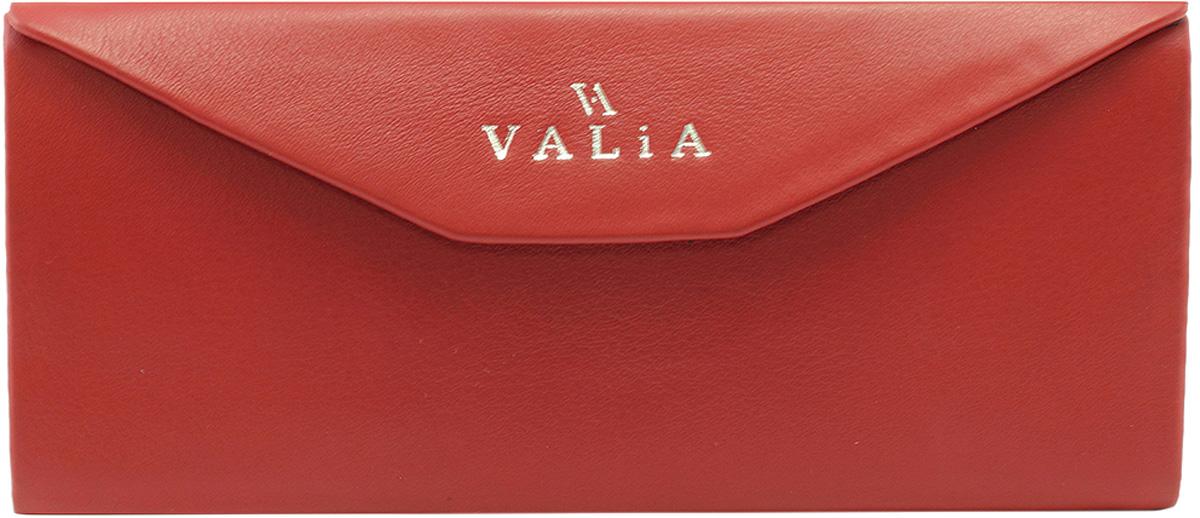 Футляр для очков женский Valia, цвет: красный. 2028