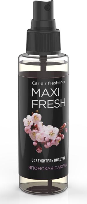 """Ароматизатор воздуха автомобильный Maxi Fresh """"Японская Сакура"""", 110 мл"""