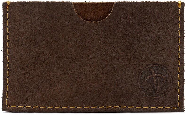 Визитница мужская Pellecon, цвет: коричневый. 004-1011/2