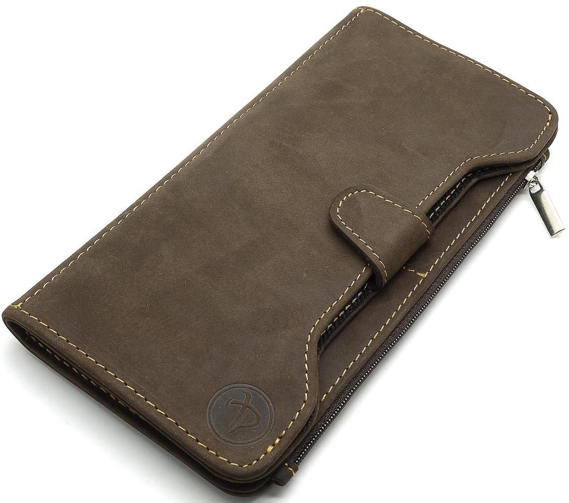 Портмоне мужское Pellecon, цвет: коричневый. 004-1015/2