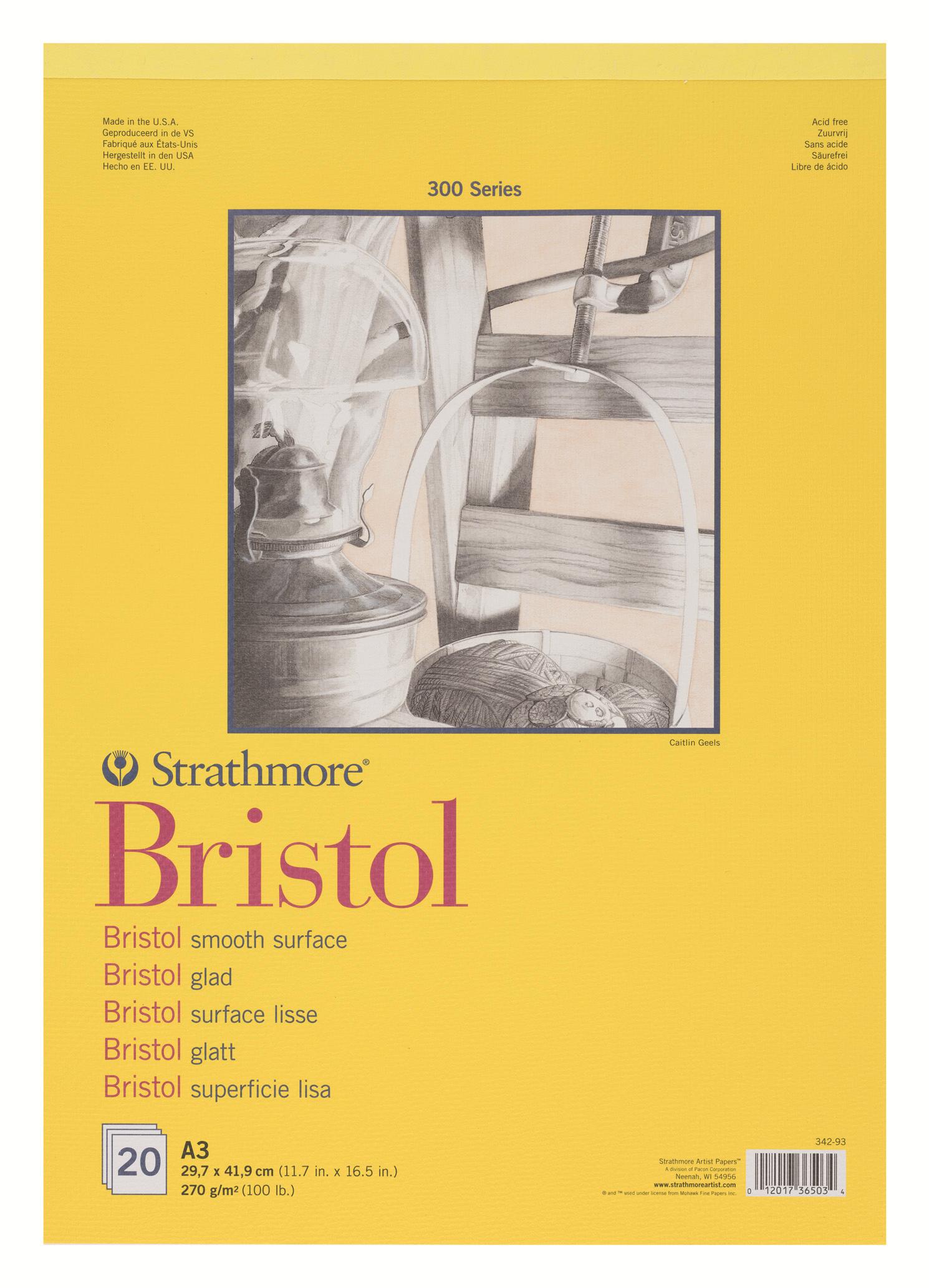 Strathmore Альбом для графики 300 Series 20 листов формат A3