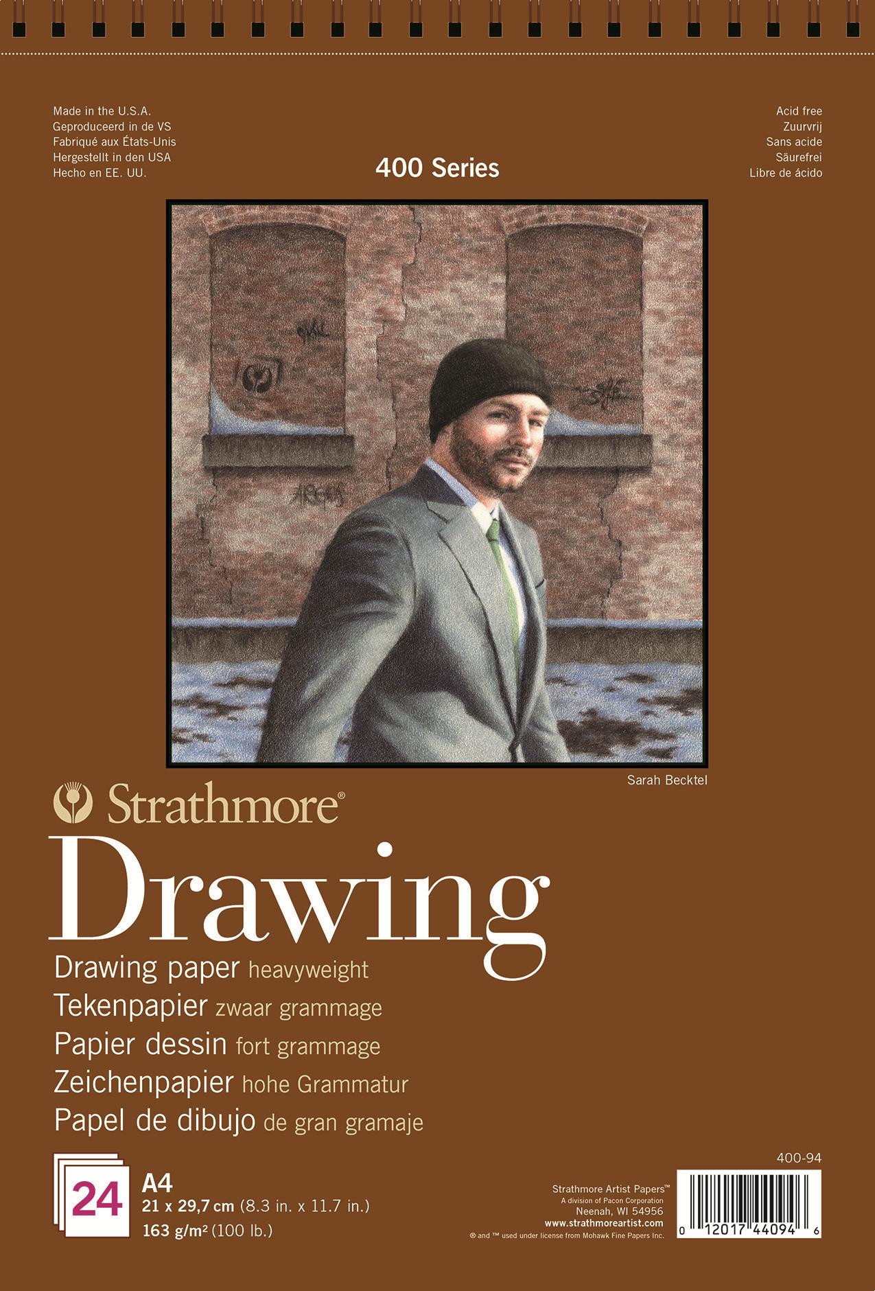 Strathmore Альбом для графики 400 Series 24 листа формат A4 -  Бумага и картон