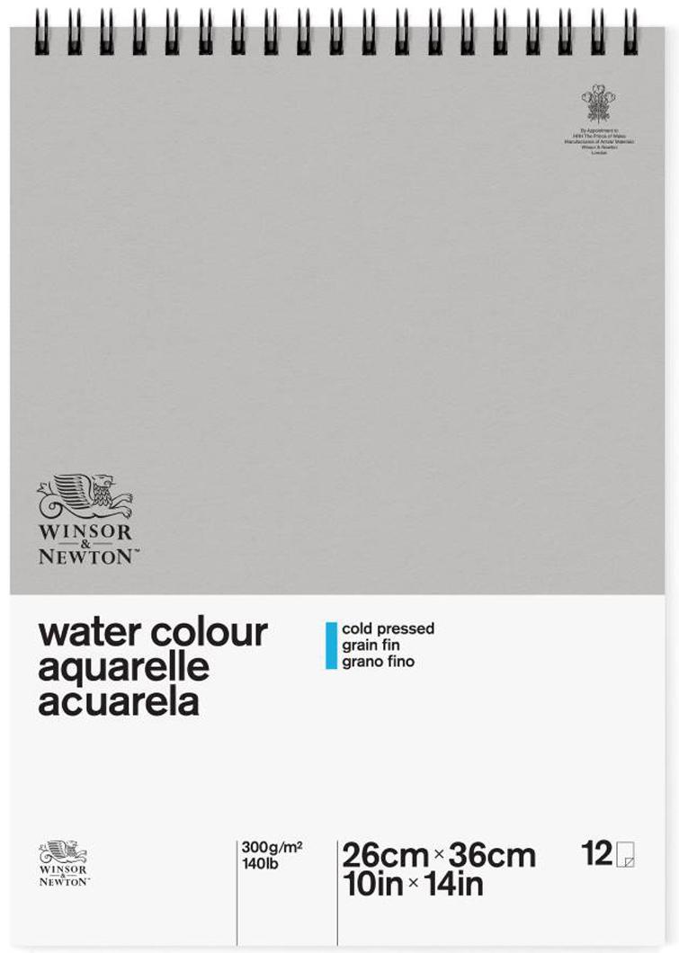 Winsor&Newton Альбом для акварели Classic 12 листов формат A4+ 6663248 -  Бумага и картон