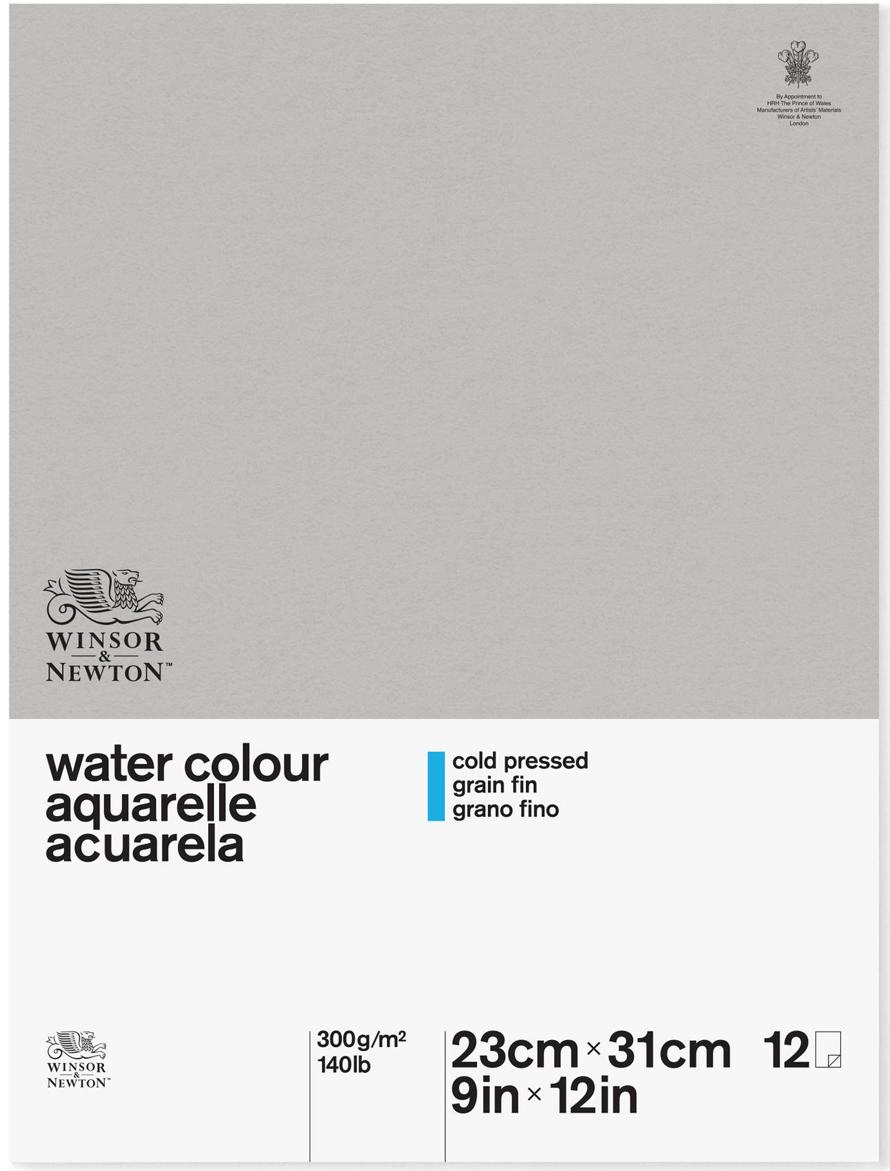 Winsor&Newton Альбом для акварели Classic 12 листов формат A4 6663252 -  Бумага и картон
