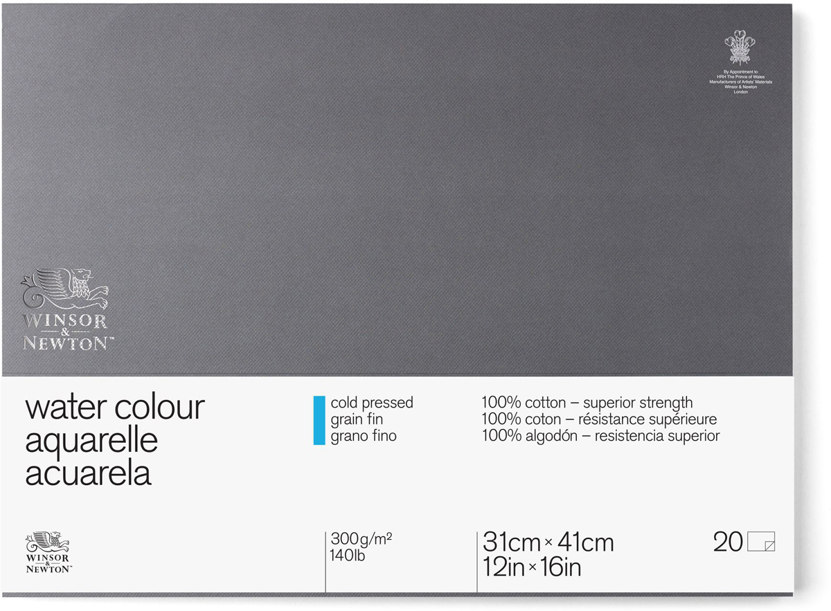 Winsor&Newton Блок для акварели Professional 20 листов формат A3 6663265 -  Бумага и картон