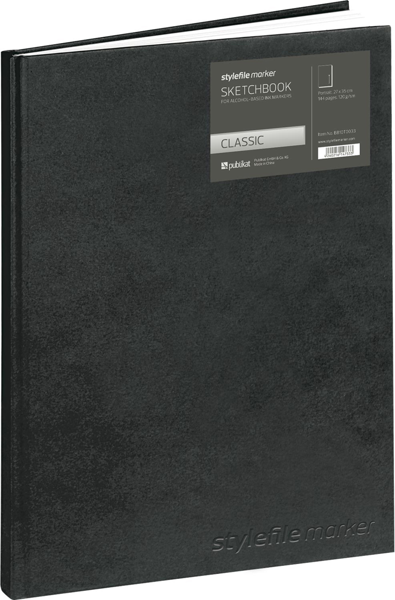 Stylefile Скетчбук для маркера Classic 144 листов формат A4+