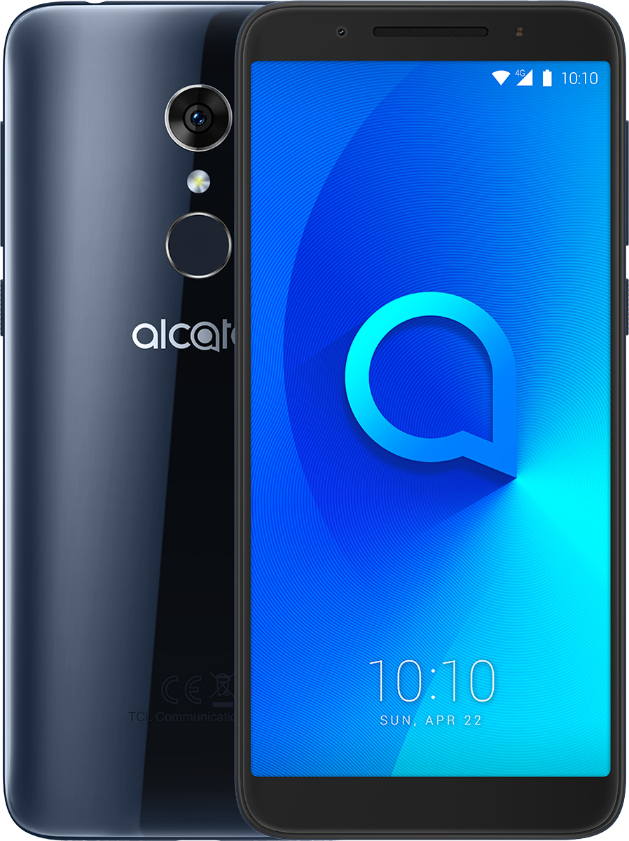 Alcatel 5034D 3L, Metallic Blue сотовый телефон alcatel 3l 5034d metallic blue