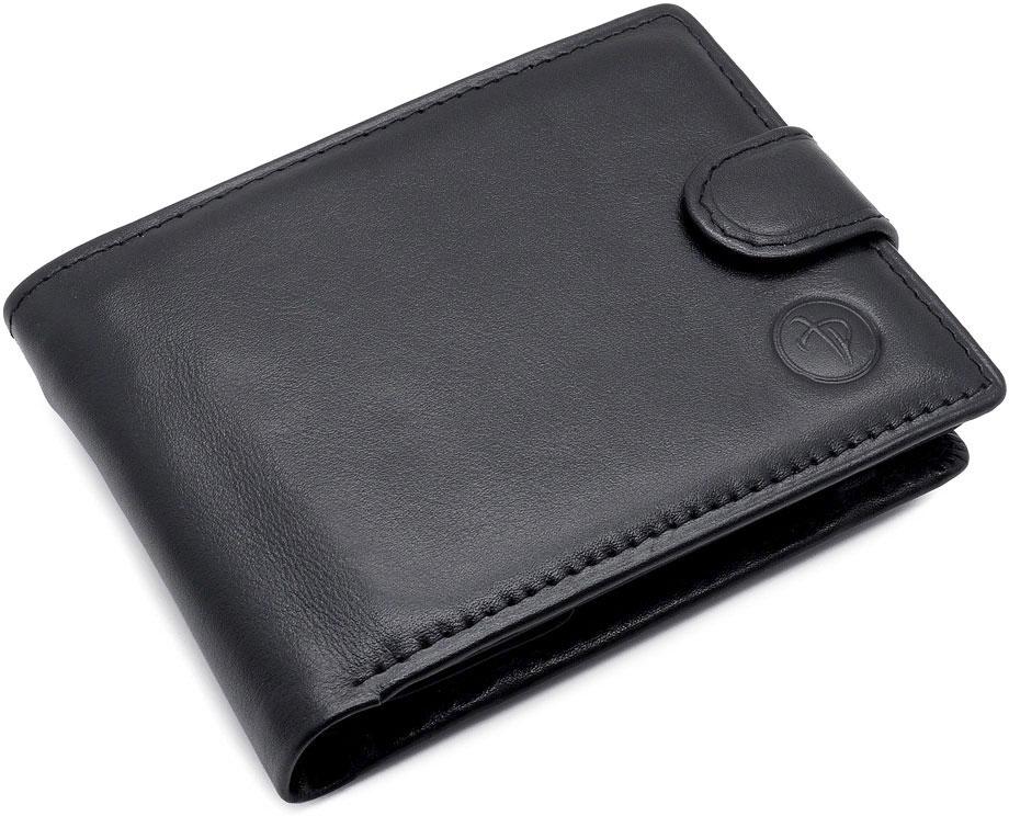 Портмоне мужское Pellecon, цвет: черный. 005-304/1