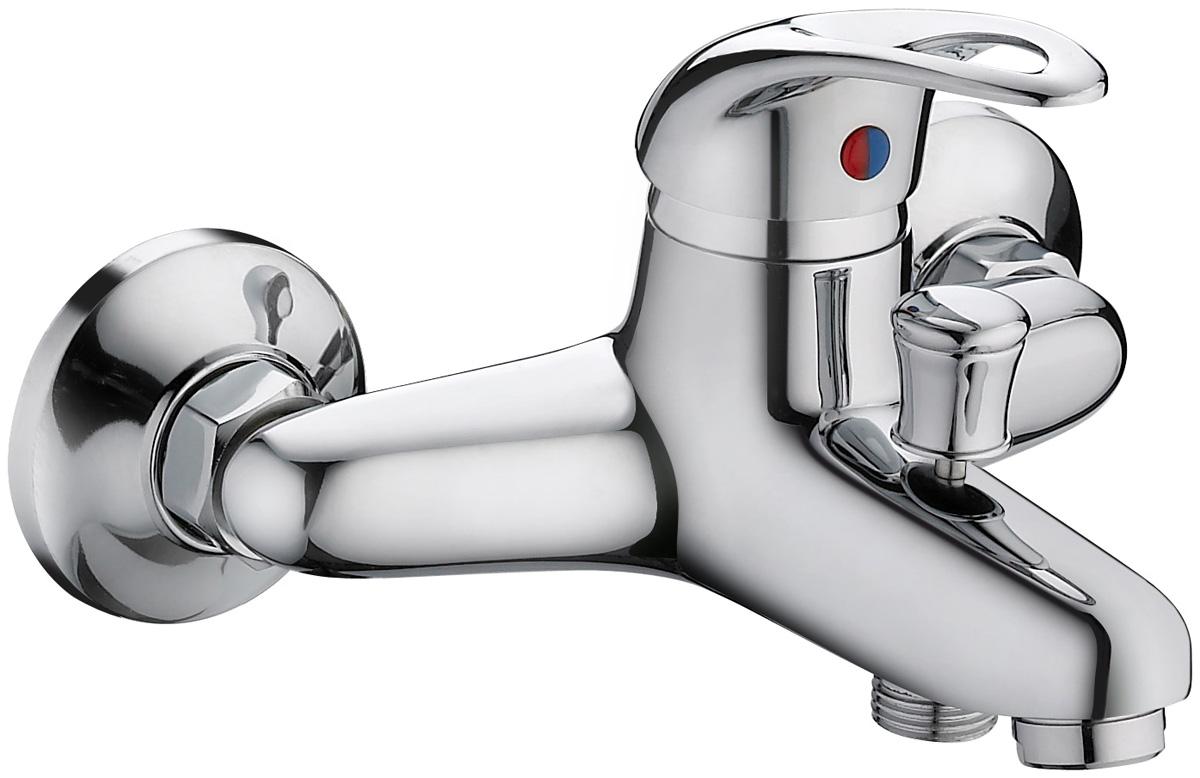 Смеситель для ванны с коротким литым изливом, отлично дополнит существующую сантехнику. Внутренняя конструкция гарантирует бесшумную работу и имеет долгий срок службы. Данная модель устойчива к коррозии, различным механическим повреждениям, перепадам температуры. Картридж: керамический 35 мм., переключение на душ: штоковое, аэратор: пластиковый, покрытие: хром. В комплекте: эксцентрики, отражатели, металлический шланг для душа 1,5 м., лейка для душа.