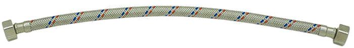 Гибкая подводка для воды РМС. 1/2-г/г-100