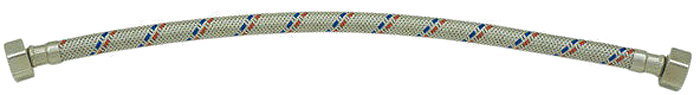 Гибкая подводка для воды РМС. 1/2-г/г-80
