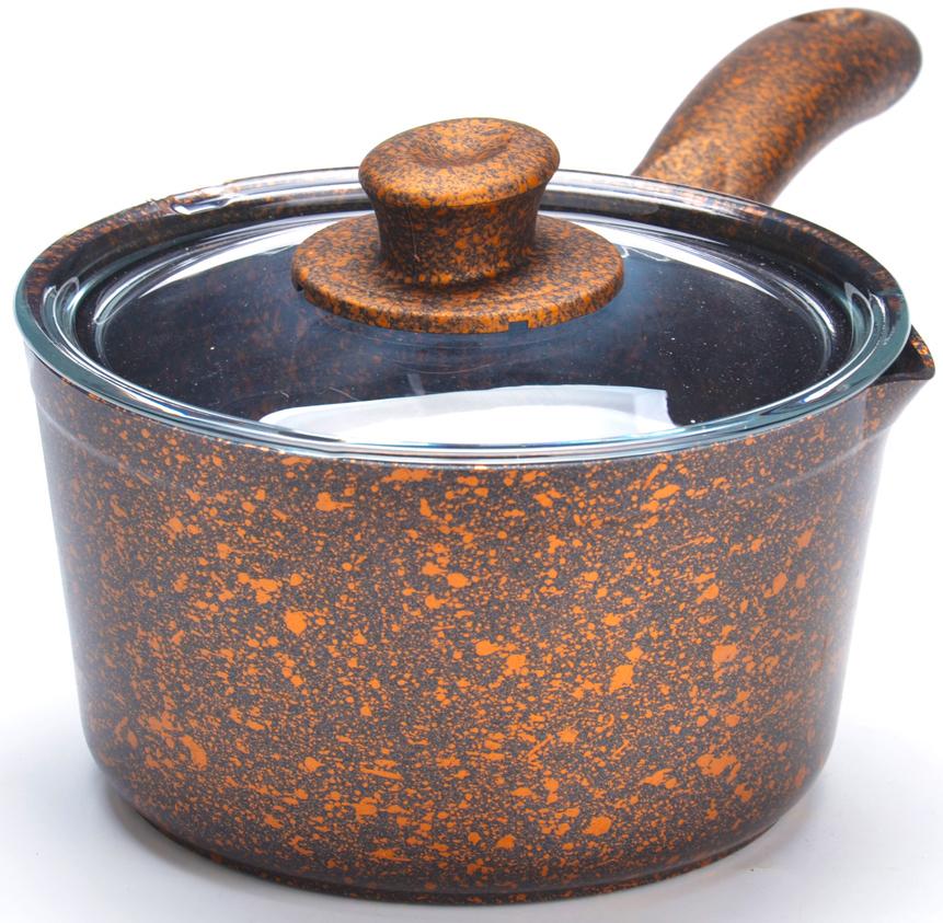 Ковш с крышкой MAYER&BOCH изготовлен из литого алюминия, что исключает возможность деформации и гарантирует долгий срок службы. Гладко проточенное, утолщенное дно, обеспечивает идеальный контакт с конфоркой и способствует равномерному разогреванию пищи. Мраморное антипригарное покрытие позволяет готовить, практически не используя растительное масло, что значительно увеличивает полезность приготовляемой еды. Бакелитовая ручка ковша не нагревается и оснащена отверстием для подвеса на крючок. В комплект также входит крышка из жаропрочного стекла с пароотводом. Подходит для всех видов плит, кроме индукционных. Подходит для мытья в посудомоечной машине.