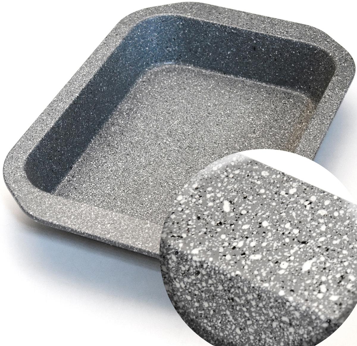 """Противень """"Mayer & Boch"""" изготовлен из высококачественной углеродистой стали с антипригарным мраморным покрытием. Толщина изделия составляет 6 мм, что обеспечивает изделию долговечность. Основной плюс посуды этого типа заключается в том, что эта посуда не перегревается, соответственно не разрушается антипригарный слой. Мраморное покрытие делает возможным приготовление блюд без масла. Оно обладает повышенной стойкостью к царапинам и внешним воздействиям. Такая посуда незаменима для приготовления запеканок, всевозможных блюд из мяса и овощей, а также выпечки из теста и изысканных кондитерских блюд. Подходит для использования в духовках. Подходит для мытья в посудомоечной машине."""