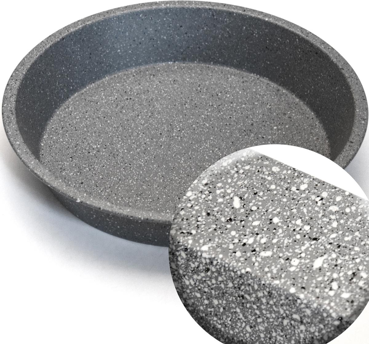 """Противень """"Mayer & Boch"""" изготовлен из высококачественной углеродистой стали  с антипригарным мраморным покрытием. Основной плюс посуды этого типа  заключается в том, что эта посуда не перегревается, соответственно не  разрушается антипригарный слой. Мраморное покрытие делает возможным  приготовление блюд без масла. Оно обладает повышенной стойкостью к  царапинам и внешним воздействиям. Такая посуда незаменима для  приготовления запеканок, всевозможных блюд из мяса и овощей, а также выпечки  из теста и изысканных кондитерских блюд. Подходит для использования в  духовках. Подходит для мытья в посудомоечной машине."""