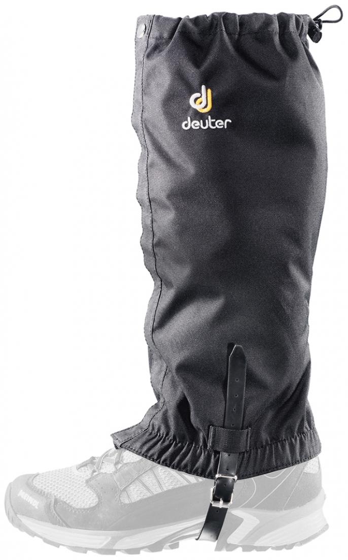 Гамаши Deuter Boulder Gaiter Long, цвет: черный. 39792_7000. Размер универсальный