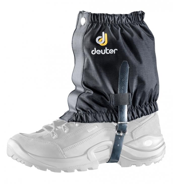 Гамаши Deuter Boulder Gaiter Short, цвет: черный. 39800_7000. Размер универсальный