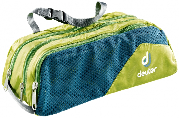 Дорожная косметичка Deuter Wash Bag Tour, цвет: хаки, темно-синий 2017 new hot men shoulder bag fashion nylon crossbody bag chest bags high quality man travel messenger bags