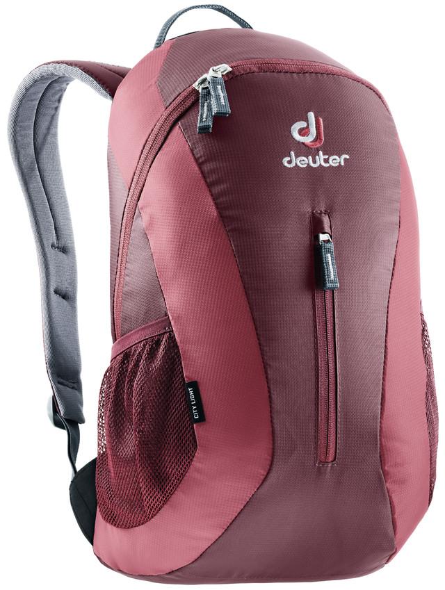 Рюкзак городской Deuter City Light, цвет: бордовый, фуксия, 16 л цена