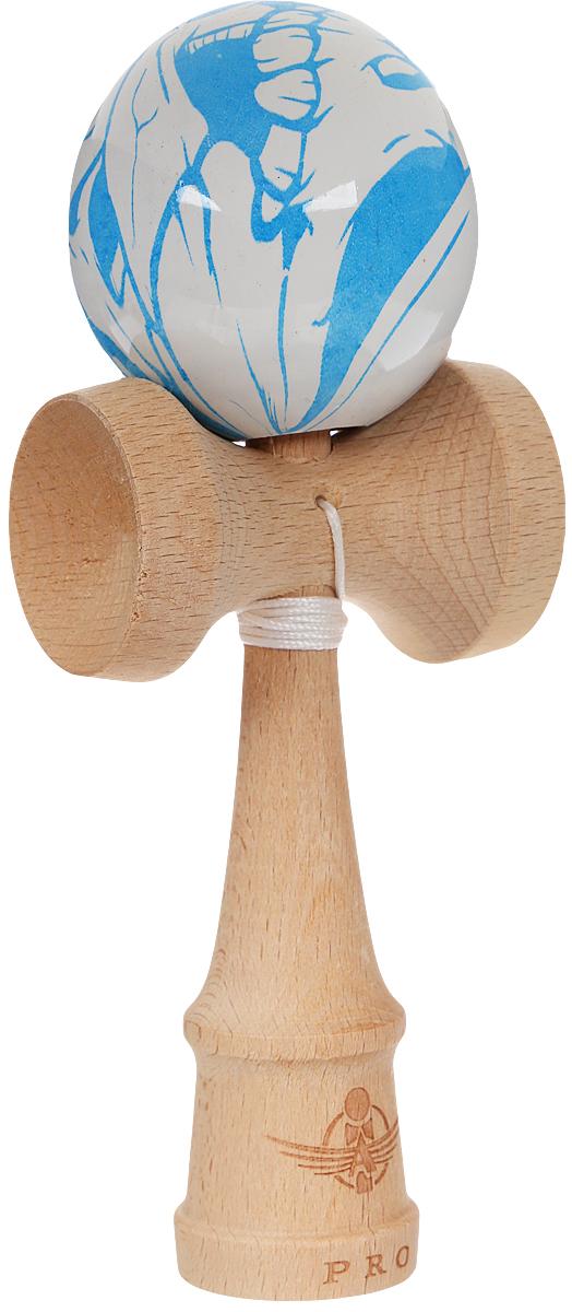 PlayLab Антистрессовая игрушка Кендама Aero Splash Узор цвет голубой sima land антистрессовая игрушка заяц хрустик 05 цвет красный