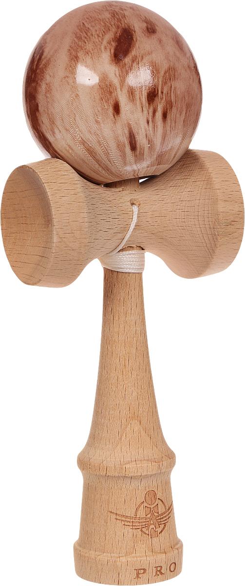 PlayLab Антистрессовая игрушка Кендама Aero Splash Шары цвет коричневый sima land антистрессовая игрушка заяц хрустик 05 цвет красный