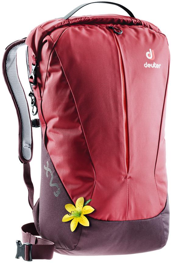 Рюкзак городской Deuter XV, цвет: бордовый, фиолетовый, 21 л