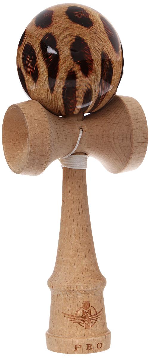 PlayLab Антистрессовая игрушка Кендама Aero Splash цвет коричневый sima land антистрессовая игрушка заяц хрустик 05 цвет красный