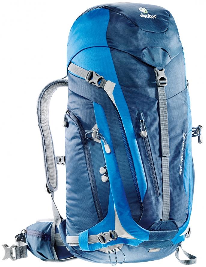 Рюкзак туристический Deuter ACT Trail, цвет: синий, темно-синий, 40 л hailan home hkmcj2v047s вскользь кальсоны людей 2017 лета новый стиральный микро эластичный штаны для печати карман синий узор 180 96a 38
