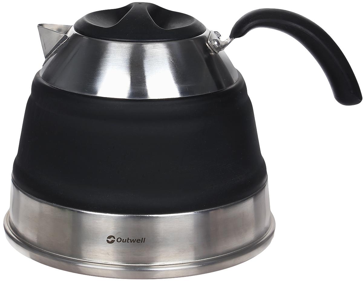 Чайник складной Outwell Collaps Kettle, цвет: зеленый, 1,5 л collaps bucket