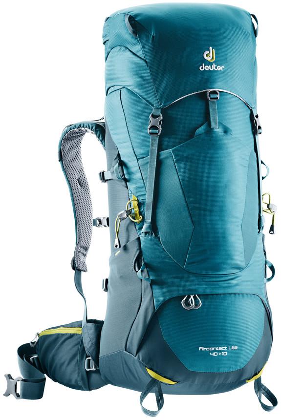 Рюкзак туристический Deuter Aircontact Lite, цвет: темно-синий, 40 л цена