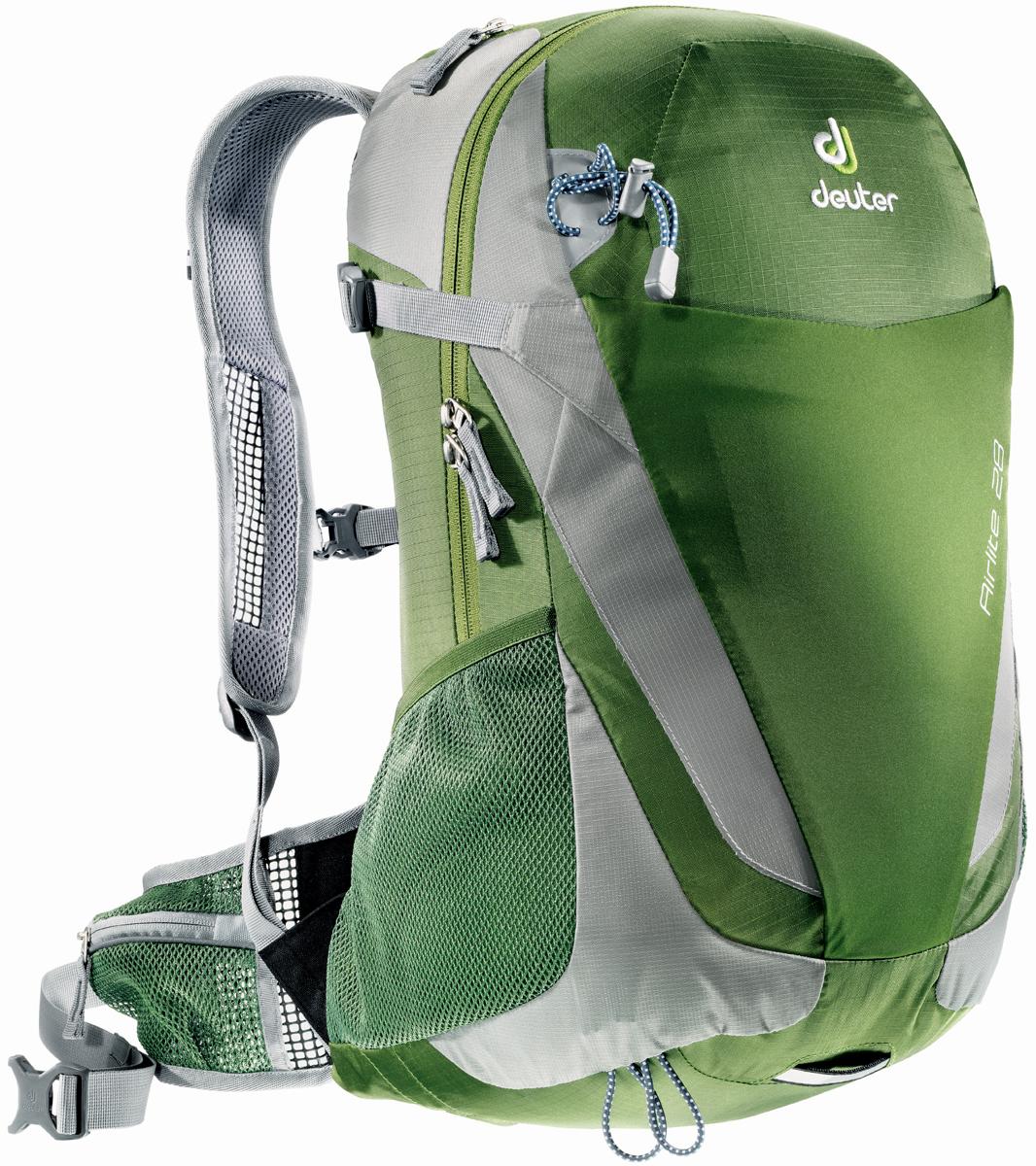 Рюкзак туристический Deuter Airlite, цвет: салатовый, серебристый, 28 л рюкзак туристический deuter climber цвет салатовый 22 л
