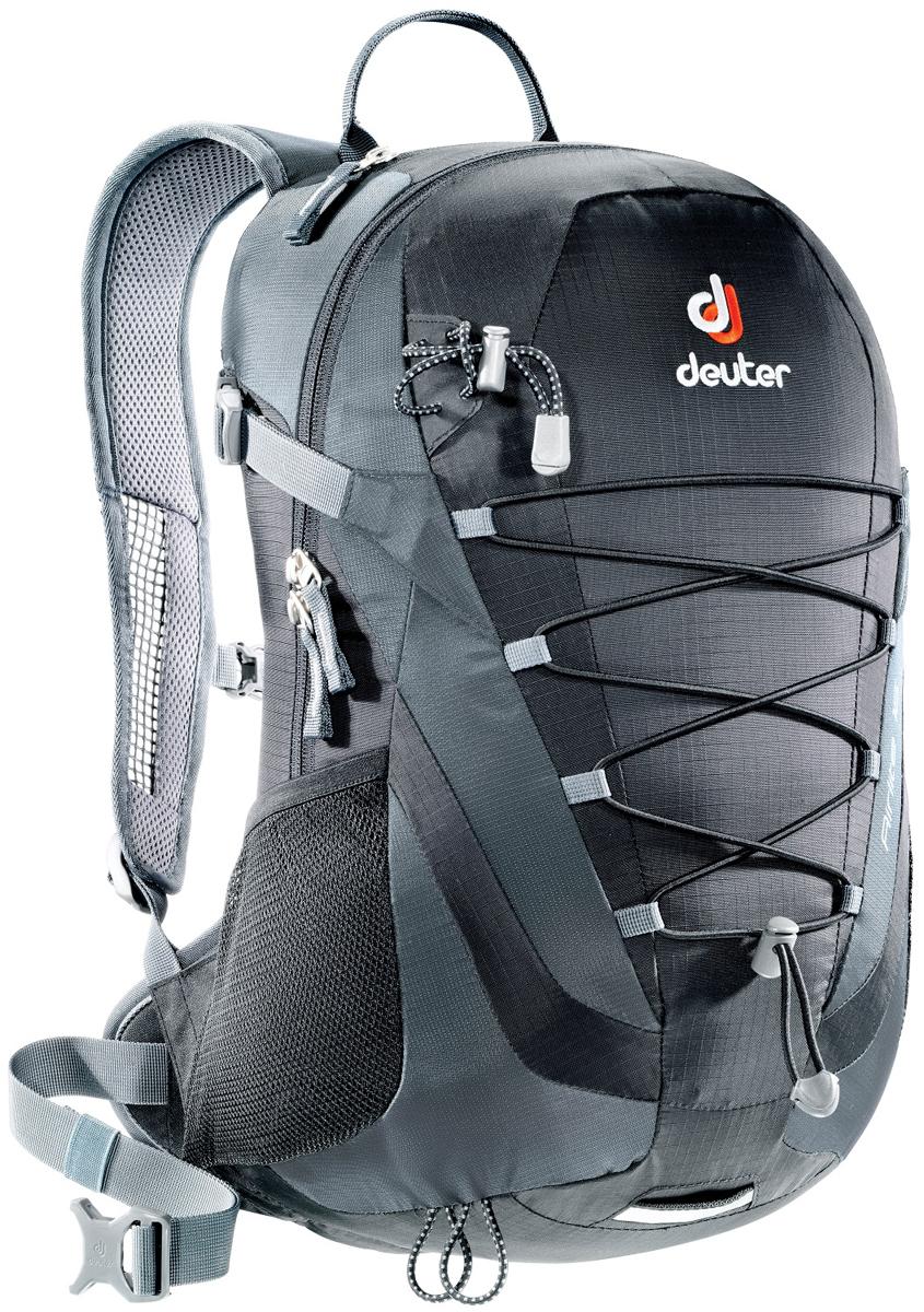 Рюкзак туристический Deuter Airlite, цвет: серый, черный, 16 л рюкзак deuter deuter snowtour 26 темно серый 26л