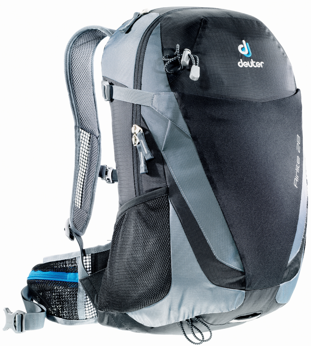 """Рюкзак туристический Deuter """"Airlite"""", цвет: серый, черный, 28 л"""