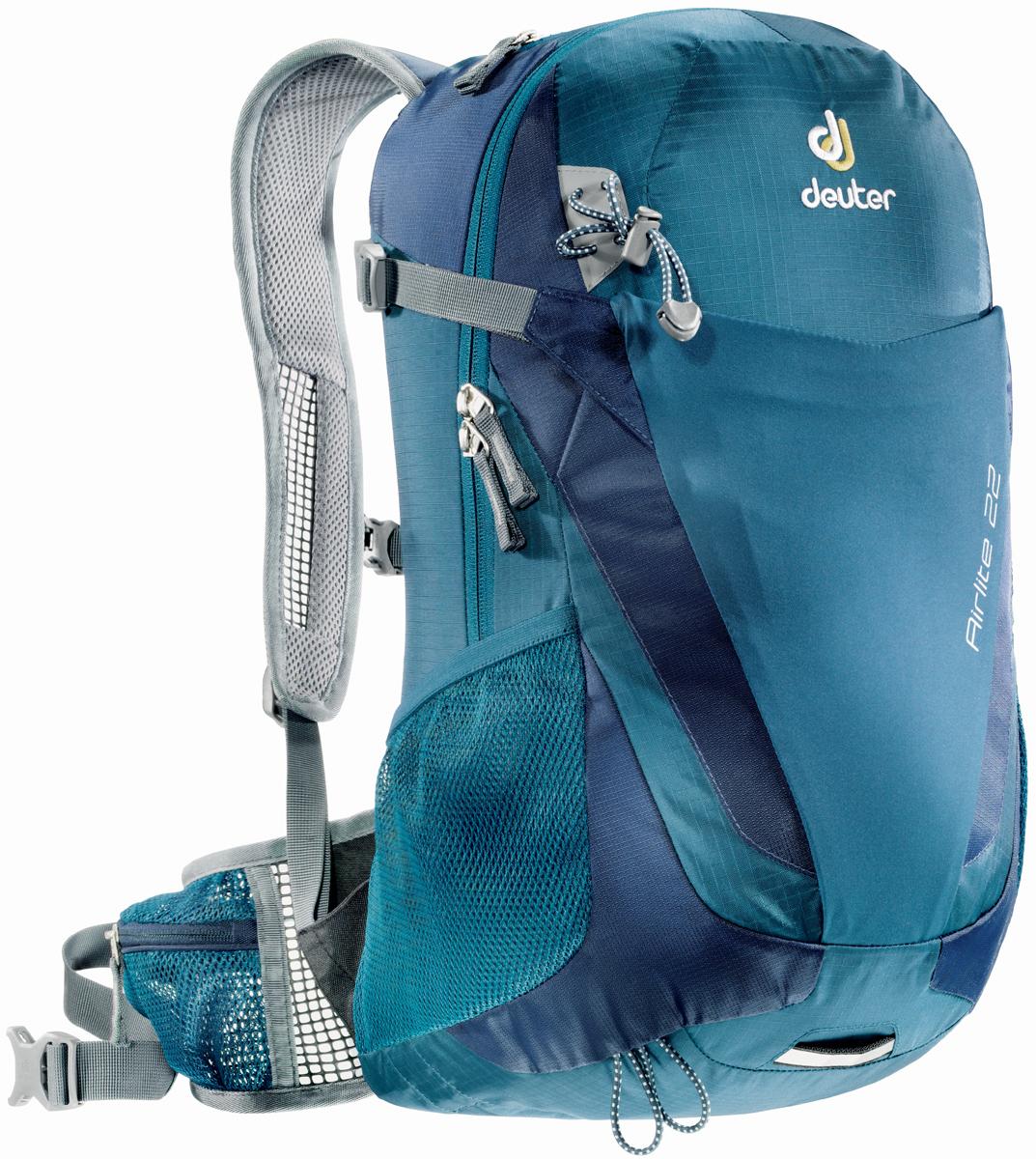 Рюкзак туристический Deuter Airlite, цвет: темно-синий, 22 л рюкзак детский deuter deuter рюкзак deuter junior голубой