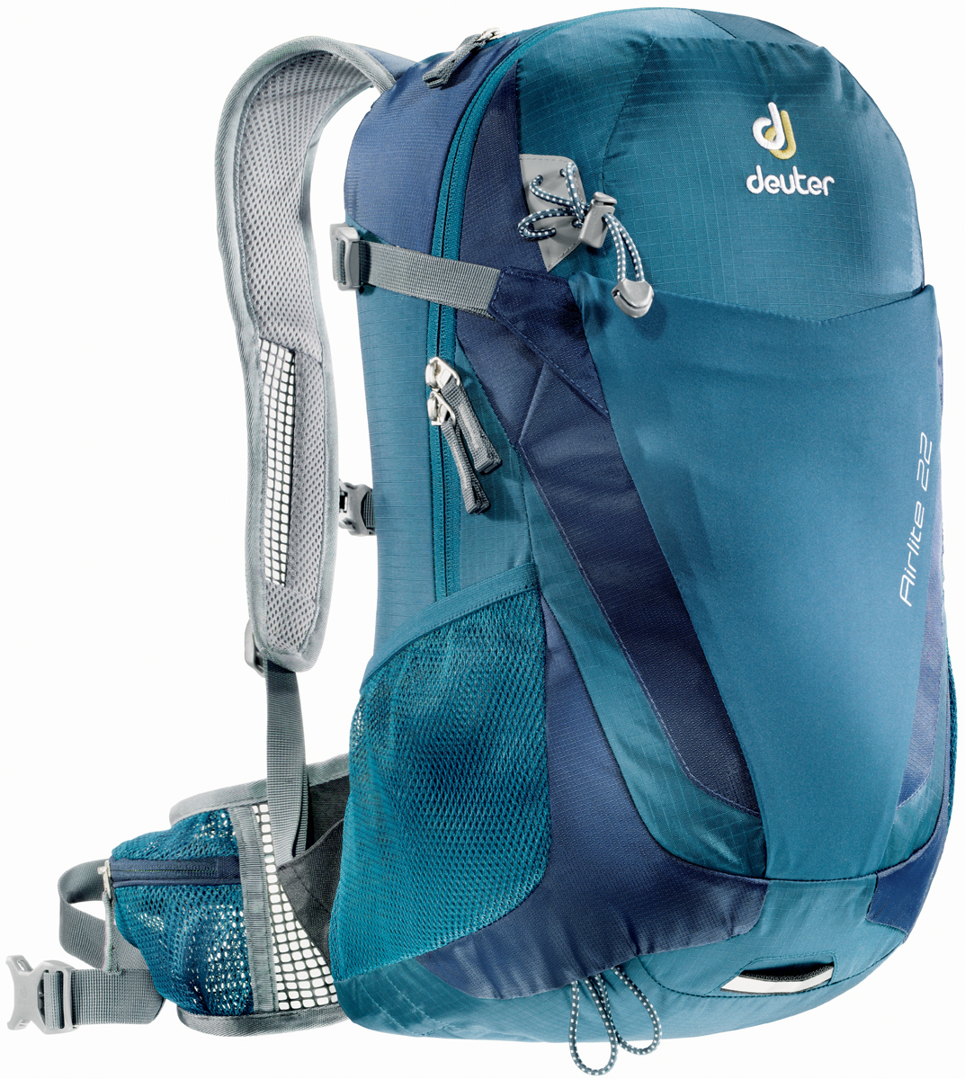 Рюкзак туристический Deuter Airlite, цвет: темно-синий, 22 л рюкзак туристический trek planet colorado 65 цвет синий темно синий 65 л