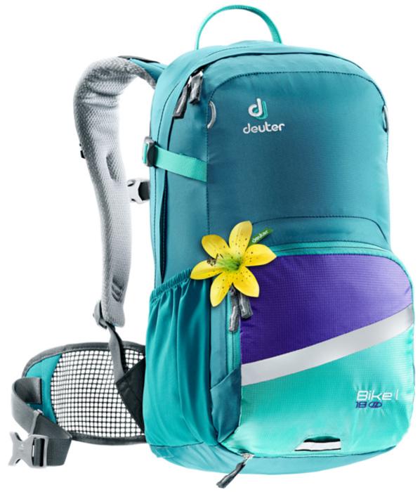 Рюкзак туристический Deuter Bike, цвет: бирюзовый, голубой, 18 л
