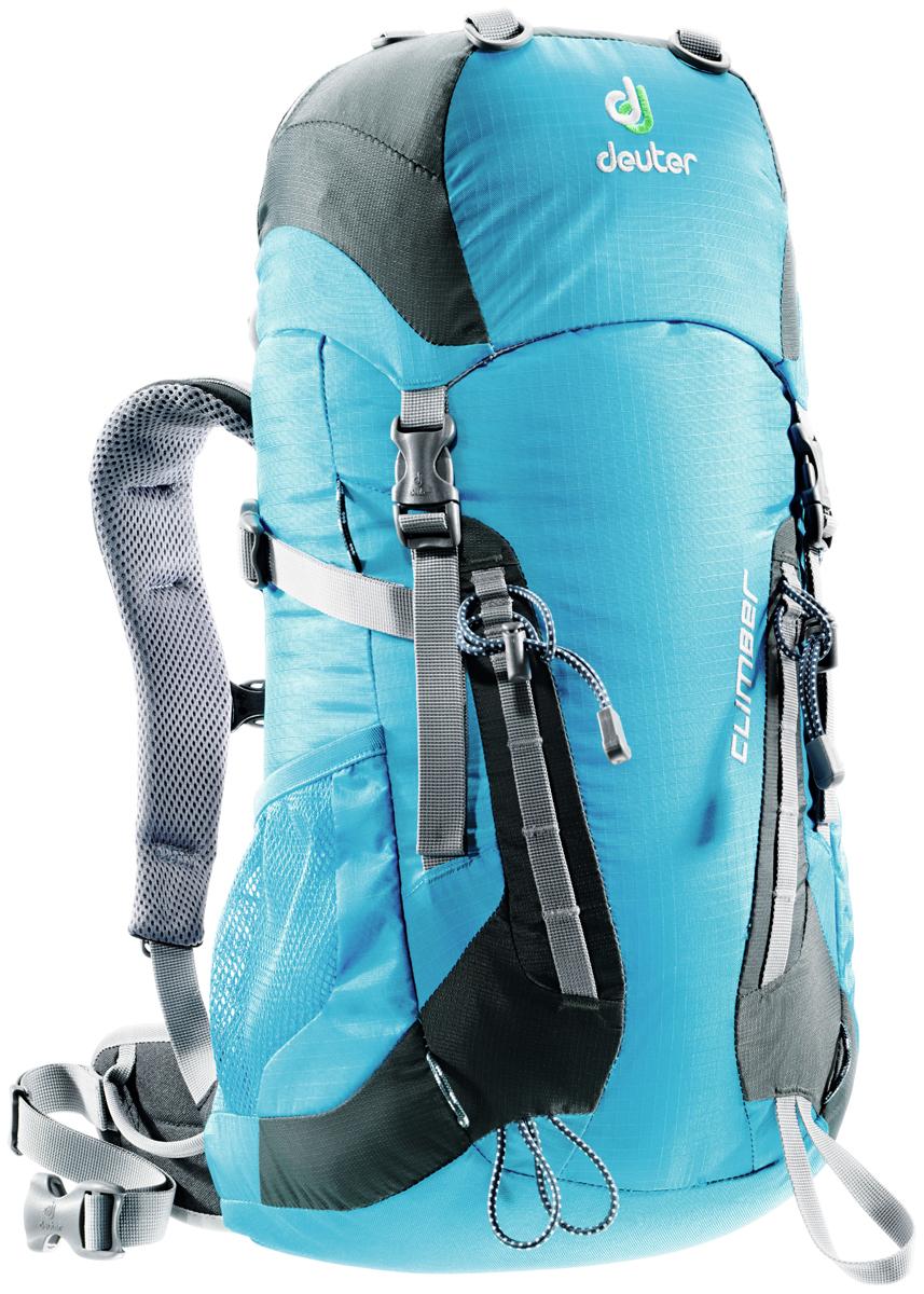 Рюкзак туристический Deuter Climber, цвет: голубой, 22 л рюкзак туристический deuter climber цвет салатовый 22 л