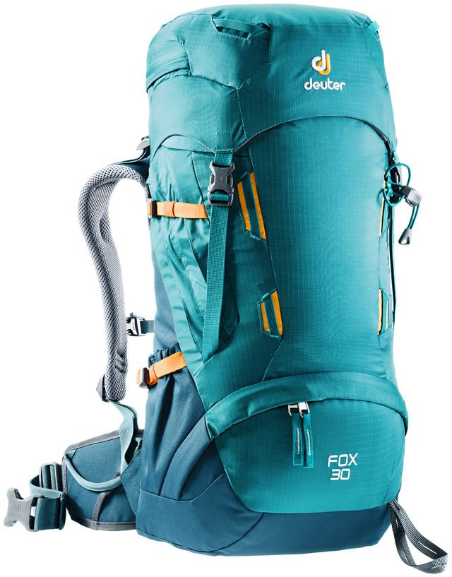 """Рюкзак туристический Deuter """"Fox"""", цвет: голубой, темно-синий, 30 л"""